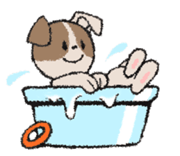 Life dog sticker #667070