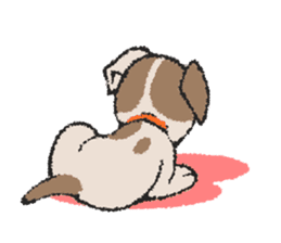 Life dog sticker #667078