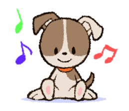Life dog sticker #667102