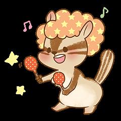 Afro Squirrel