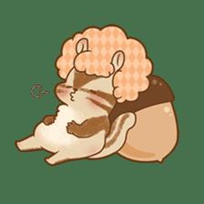 Afro Squirrel sticker #667144