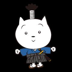 Neko-samurai
