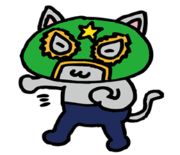 cat mask sticker #667186