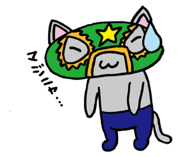 cat mask sticker #667206