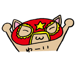 cat mask sticker #667211
