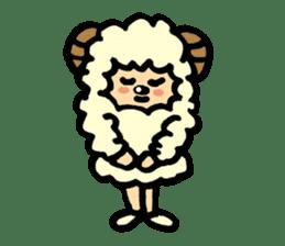 Hitsuji-chan sticker #667226