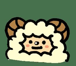 Hitsuji-chan sticker #667228
