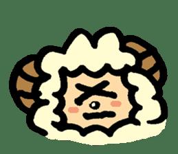 Hitsuji-chan sticker #667230