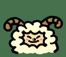 Hitsuji-chan sticker #667233