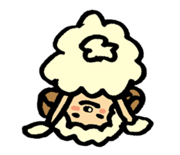 Hitsuji-chan sticker #667235