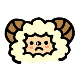 Hitsuji-chan sticker #667236