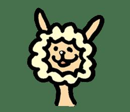 Hitsuji-chan sticker #667241