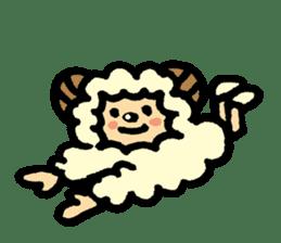 Hitsuji-chan sticker #667242