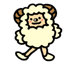 Hitsuji-chan sticker #667243