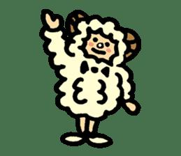 Hitsuji-chan sticker #667244