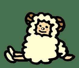 Hitsuji-chan sticker #667245