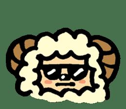 Hitsuji-chan sticker #667246