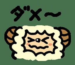 Hitsuji-chan sticker #667260