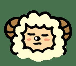 Hitsuji-chan sticker #667261