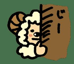 Hitsuji-chan sticker #667262