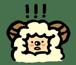 Hitsuji-chan sticker #667263