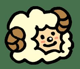 Hitsuji-chan sticker #667264