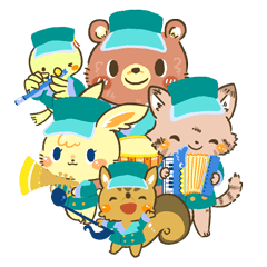 Musical Band of the Forest