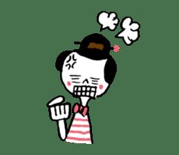 Fashionable Samurai & Machimusume sticker #668896