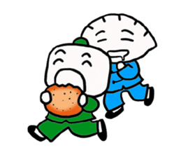 And his friends Nikuman teacher Vol.2 sticker #668980
