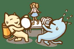 """Doll Fan """"MEGANEKO"""" sticker #669309"""