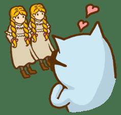 """Doll Fan """"MEGANEKO"""" sticker #669316"""