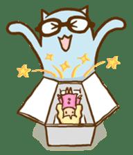 """Doll Fan """"MEGANEKO"""" sticker #669320"""