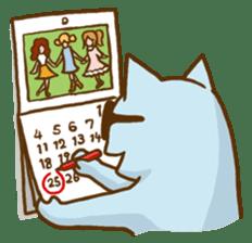"""Doll Fan """"MEGANEKO"""" sticker #669322"""