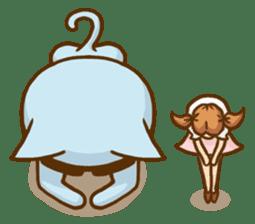 """Doll Fan """"MEGANEKO"""" sticker #669331"""