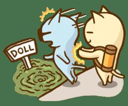 """Doll Fan """"MEGANEKO"""" sticker #669342"""
