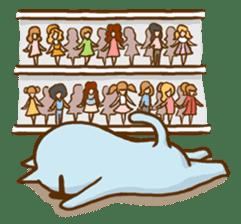 """Doll Fan """"MEGANEKO"""" sticker #669345"""