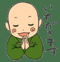 Buddhist monk sticker sticker #669590