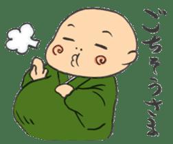 Buddhist monk sticker sticker #669591