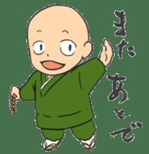 Buddhist monk sticker sticker #669594