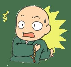 Buddhist monk sticker sticker #669604