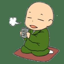 Buddhist monk sticker sticker #669609