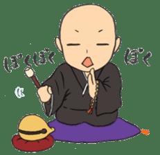 Buddhist monk sticker sticker #669613