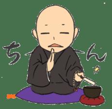 Buddhist monk sticker sticker #669614