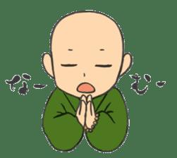 Buddhist monk sticker sticker #669615