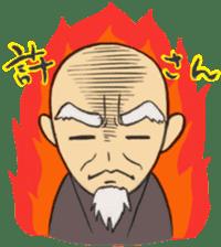 Buddhist monk sticker sticker #669621