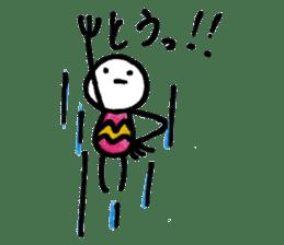 Muhyori sticker #671534