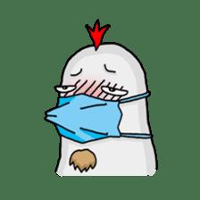 Mr. Chicken sticker #672467