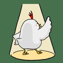 Mr. Chicken sticker #672470