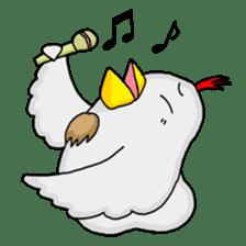 Mr. Chicken sticker #672472