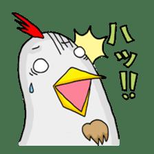 Mr. Chicken sticker #672476